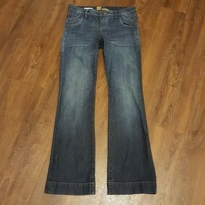 "Kut from the Kloth Maggy Flare Jeans 33"" inseam"